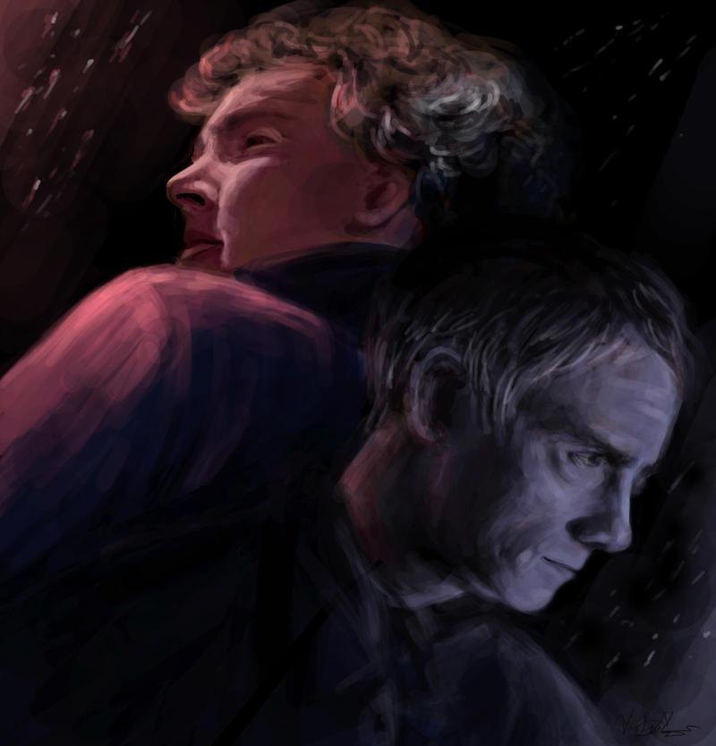 Sherlock and Watson by Englehart
