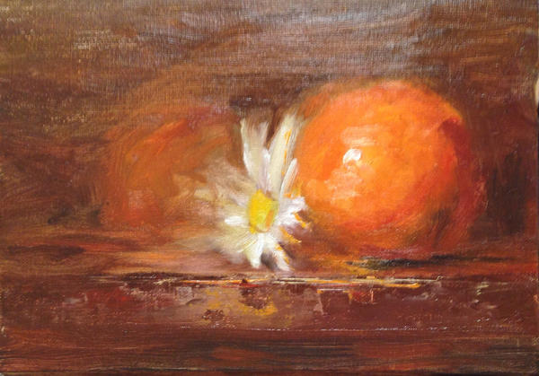 Daisy with Tangerines by FineArtCandice