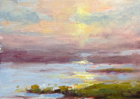 Study of the Marshes by FineArtCandice