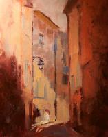 Narrow Street by FineArtCandice