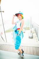 Swaggy Rainbow Dash by Pichu-no-Sekai