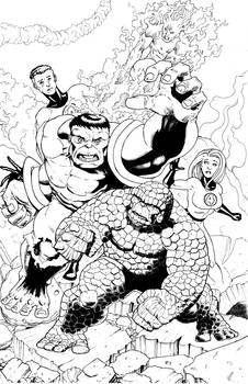 Hulk vs FF