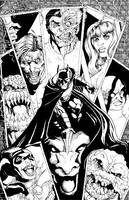 Batman Print by berniecooke