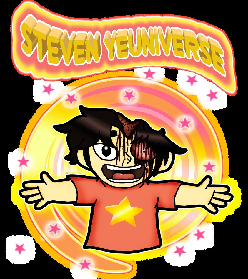 Steven Yeuniverse by FiddleMyJiggles