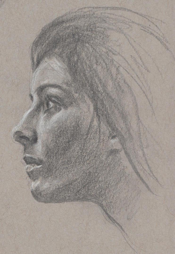 Grey Woman by cornonthe-cob