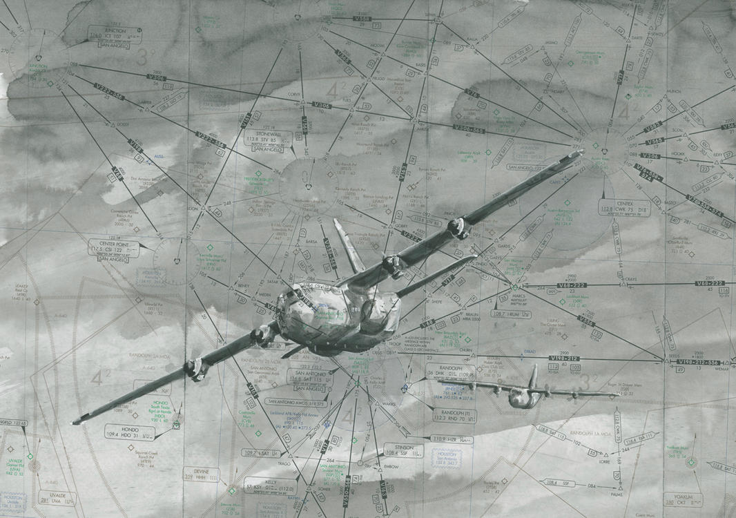 C-130J Formation by cornonthe-cob