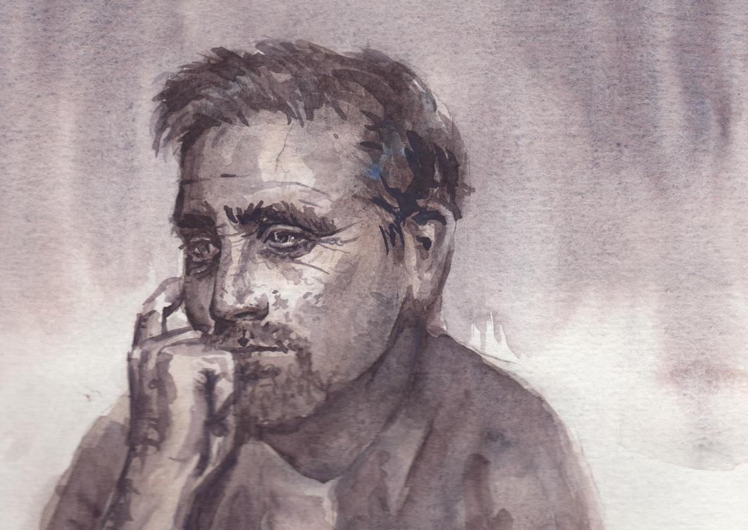Thinking Man by cornonthe-cob