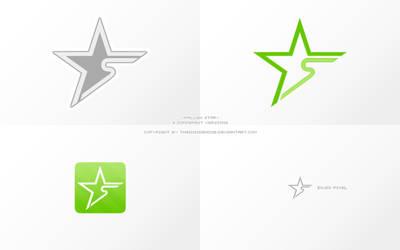 Fallen Star - Logo