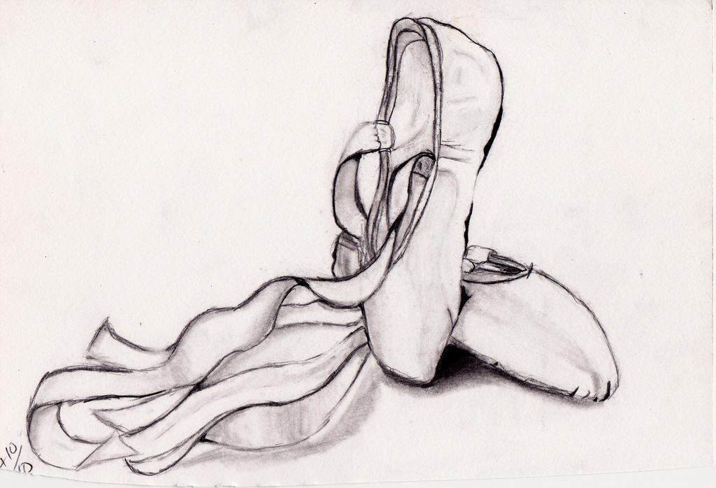 Ballerina shoes by VictoriaGreen on DeviantArt