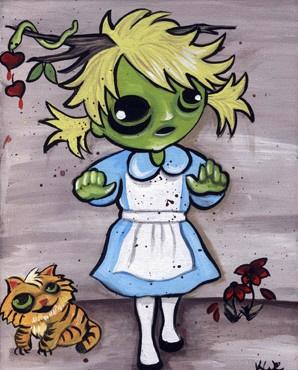 Alice in Zombieland by KiWiCuties