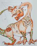 Halloween Dragon by misbeavin