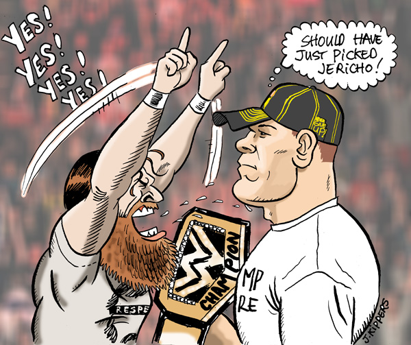 Bryan Vs Cena by jkipper