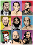 The Faces Of Wwe