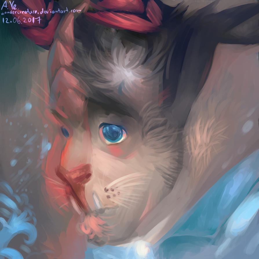 the beast's portrait ver1wondercreature on deviantart