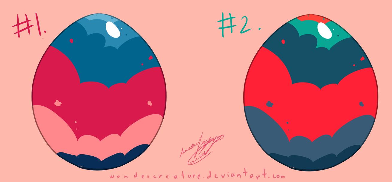 Surprise Eggs(2/2 OPEN) #2 by WonderCreature