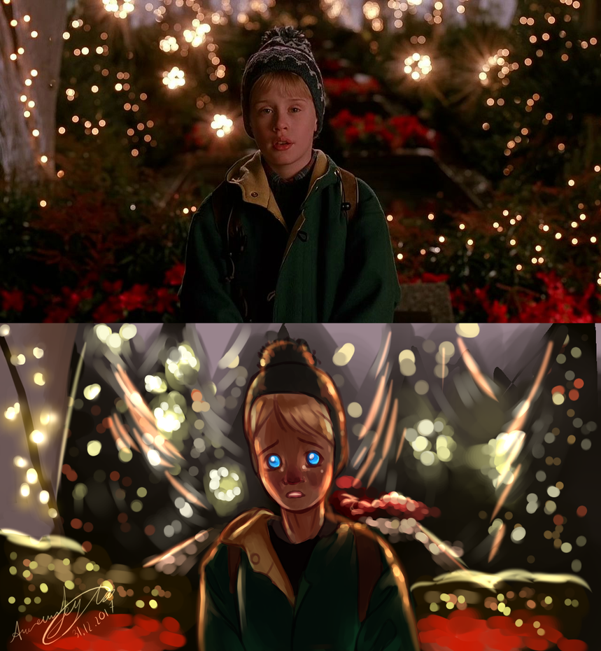 Home Alone frame redraw by WonderCreature