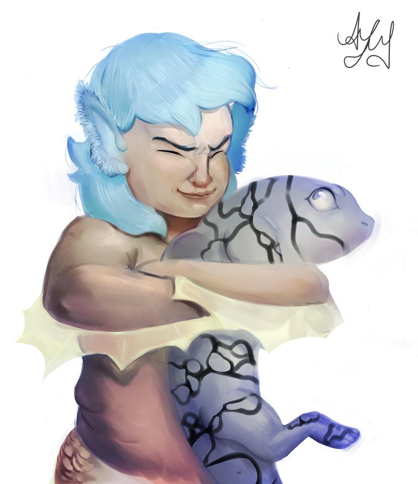 Mer-hugs by AramYengoyan