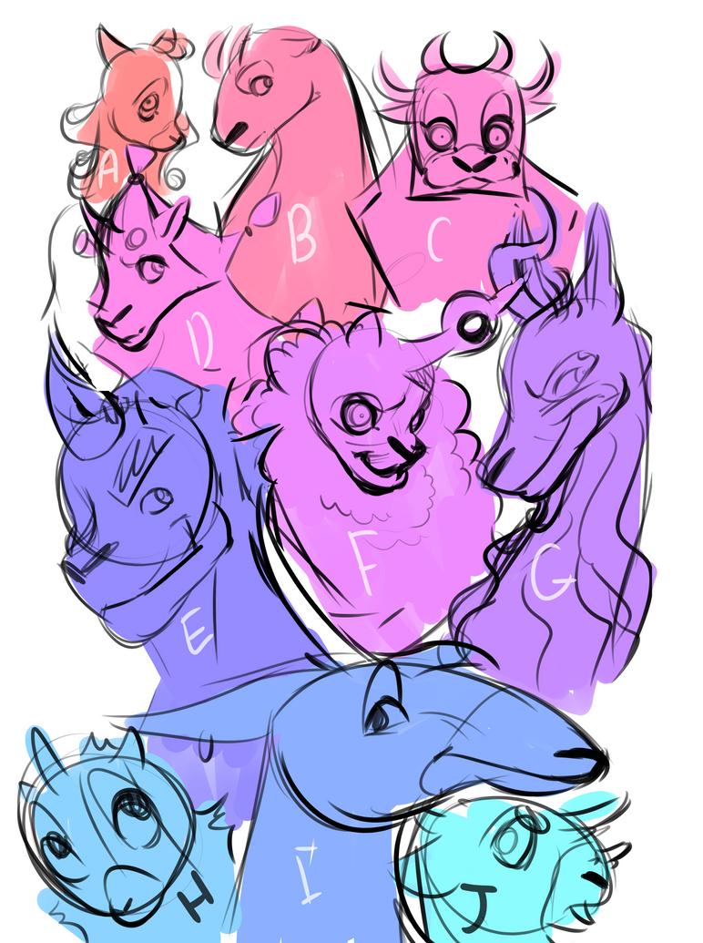 Character ideas by AramYengoyan