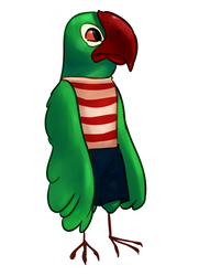A Parrot Character