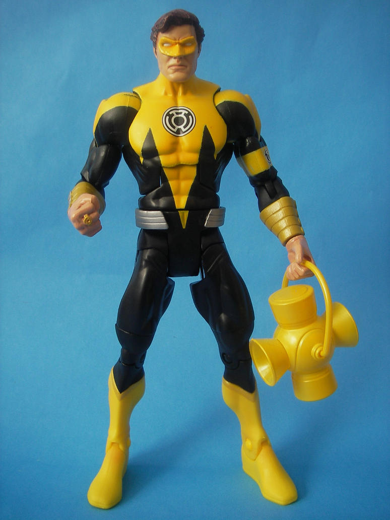 Yellow Lantern Hal Jordan by cusT0M on DeviantArt