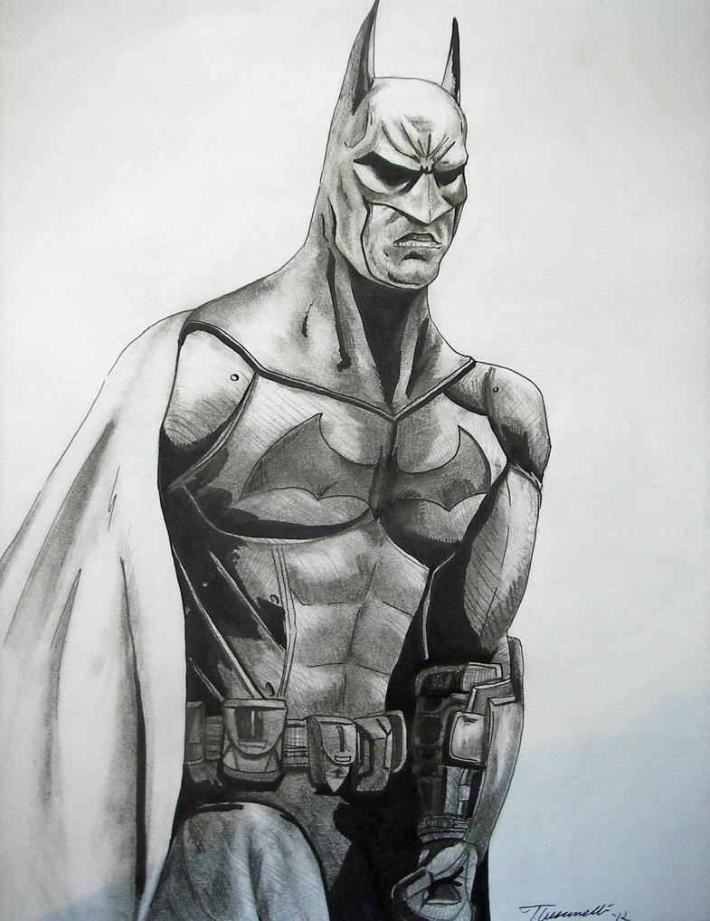 How to draw batman:arkham city