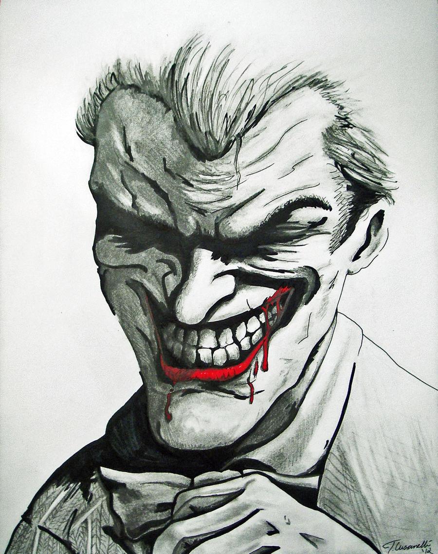 Joker Scribble Drawing : Arkham city joker drawing by cust m on deviantart