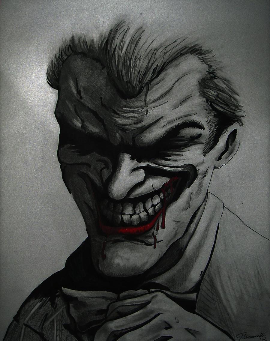 How to draw joker arkham