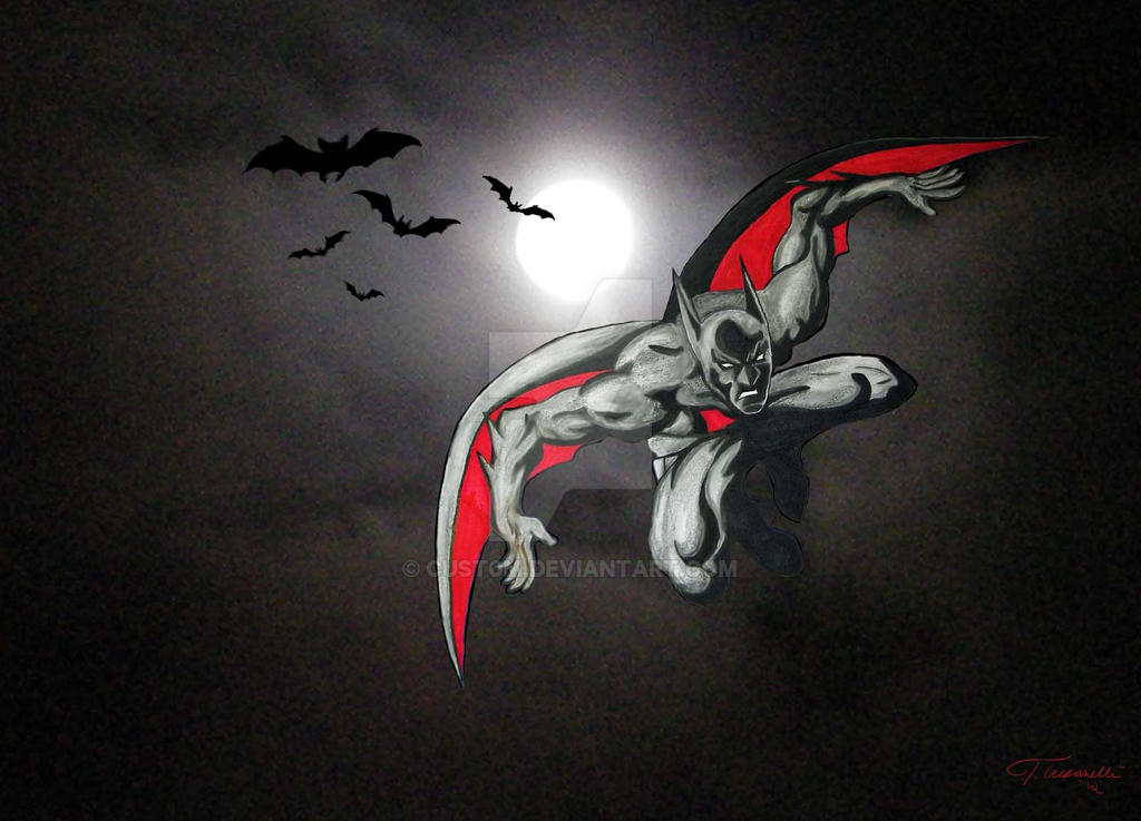 Batman Beyond by Moon Light by cusT0M