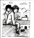Kiba and Hinata 2