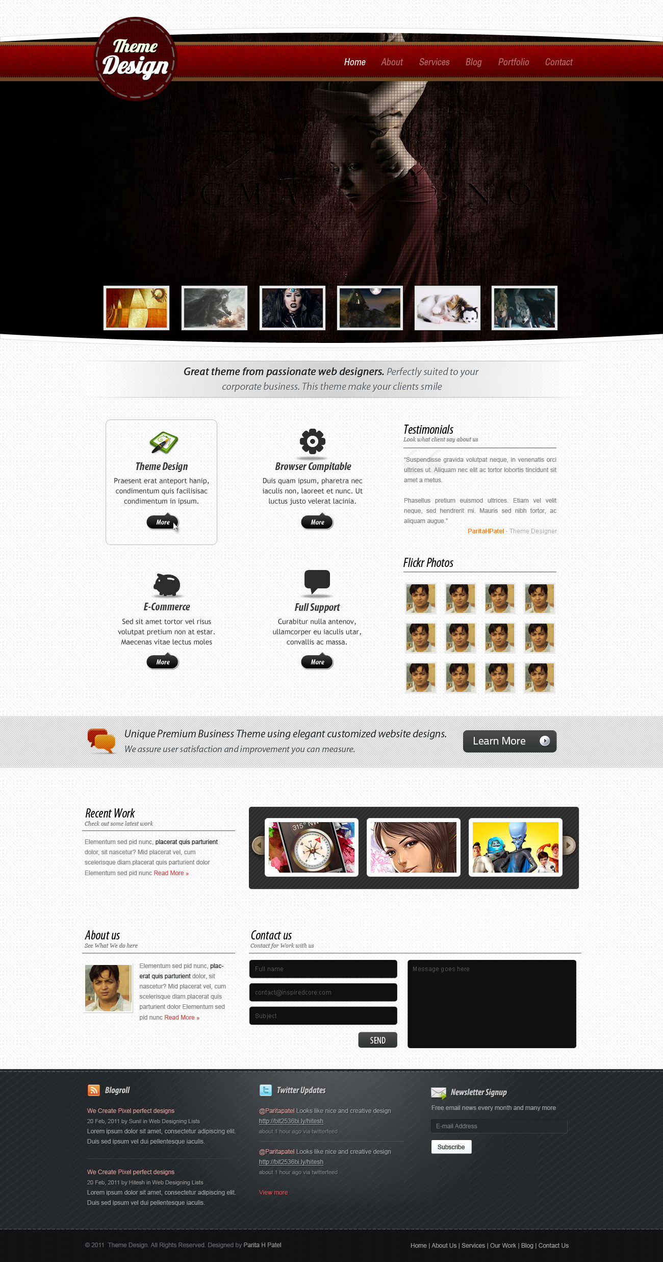 Theme Design by hitlat