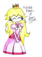 +Princess Peach+Chibi+ by blueandpurple-rock