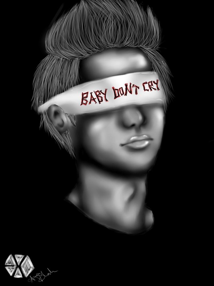. baby don't cry . by blueandpurple-rock