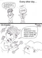 Atheist Easter by RagingArtist