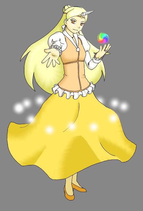 Touhou Luminous Dream - Houko by minako134