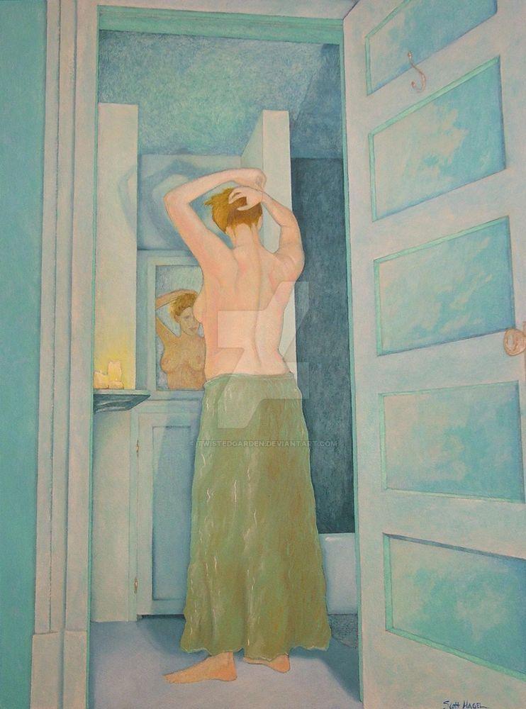 Bathroom Mirror by TwistedGarden