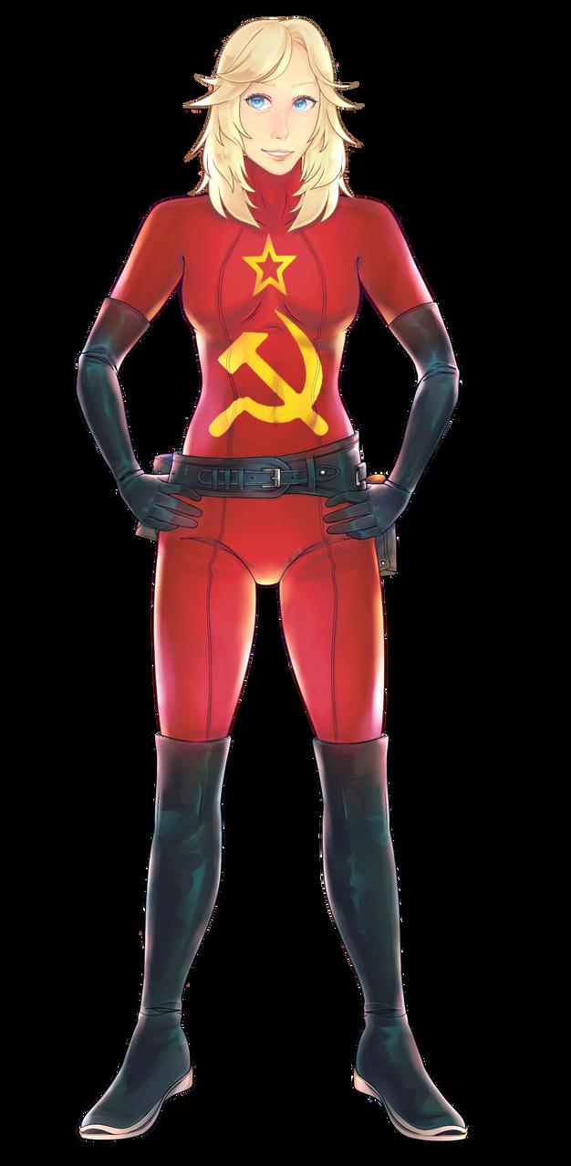 COM: Soviet Samantha by 3kkio