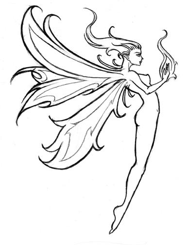 Fairy Tattoo Designs For Girls Picture 3