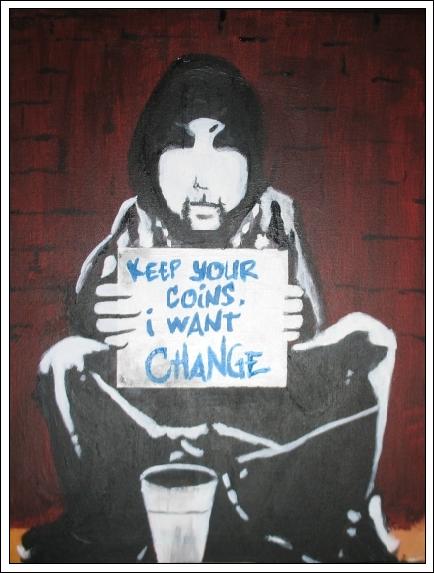 Revolutionary Beggar Stencil by xnouseforanamex