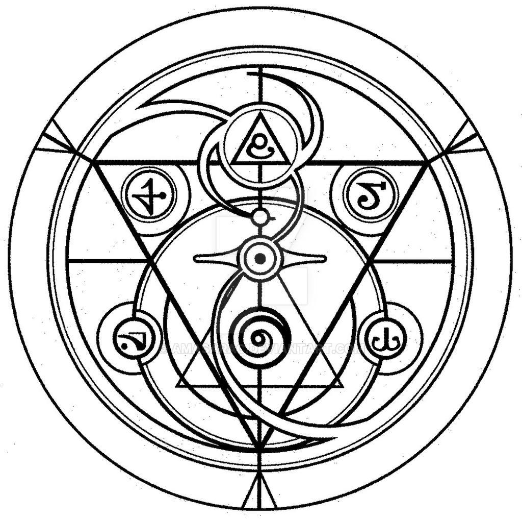 Full Metal Alchemist Alchemy Symbols