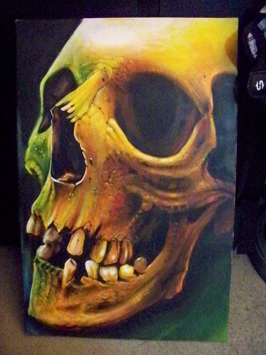 skull by Redbaxter