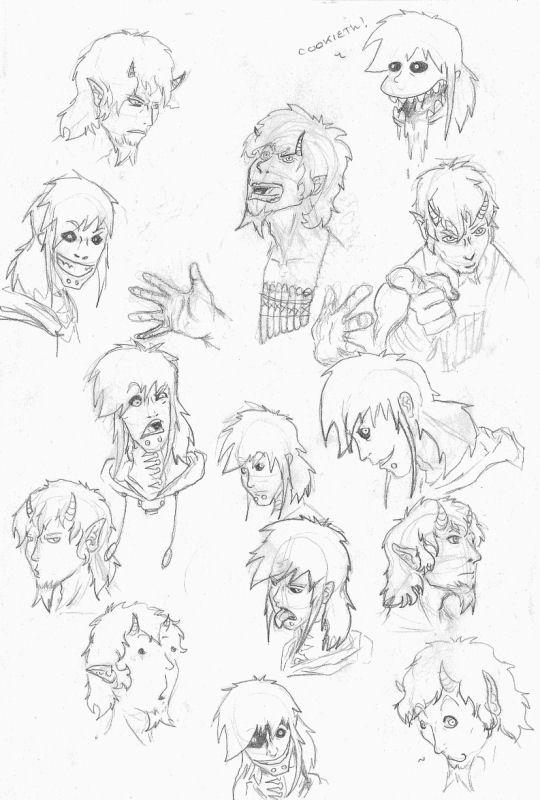 expression sketch by ilishtor on deviantart