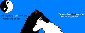 Yin Yang Wolf-Love
