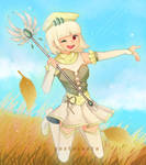 Aylina as A Magical Girl