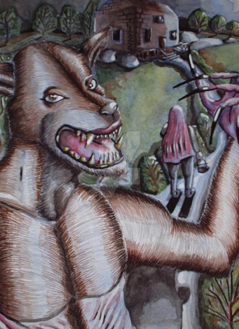 The Big Bad Wolf by I77ustrat1v3mind