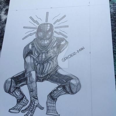 Spider-Man by I77ustrat1v3mind