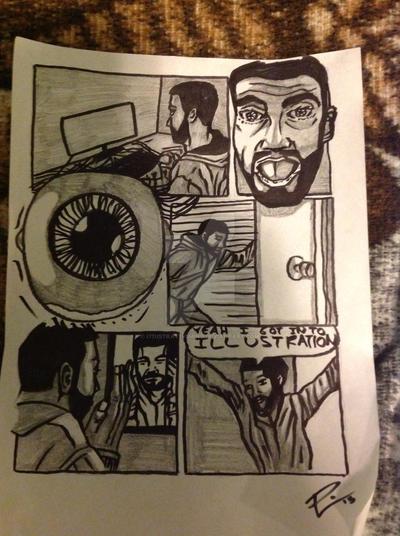 Comic Rough 1 by I77ustrat1v3mind