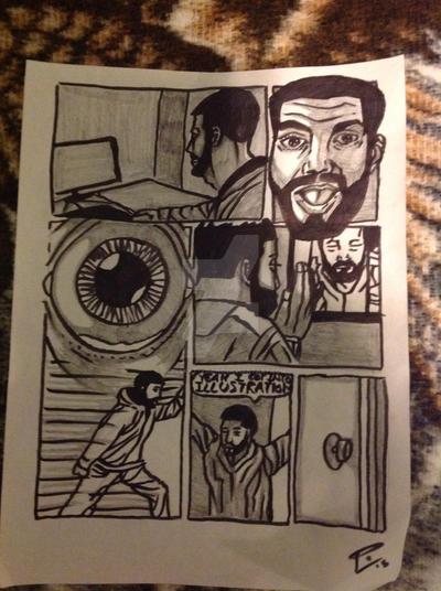 Comic Rough 2 by I77ustrat1v3mind