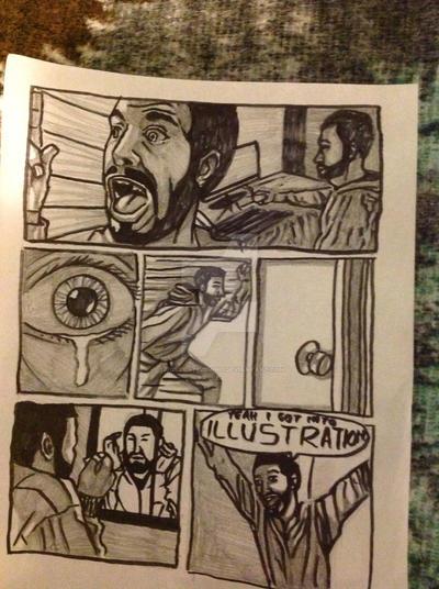 Comic Rough 3 by I77ustrat1v3mind