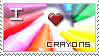 Crayon Stamp by VeraCotuna
