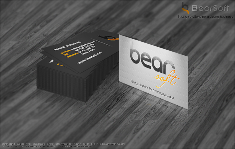 BearSoft Business Card by ~S-a-t-i-n-e